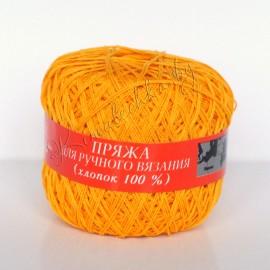 Пряжа хлопок 100% (жёлтый)