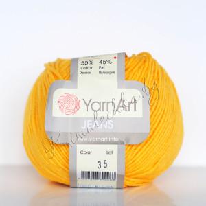 ярко-жёлтый 35