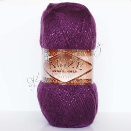 Angora Gold Simli фиолетовый (111)