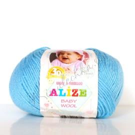 Baby Wool св.бирюзовый (128)