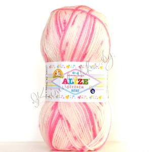 цвет 507 - белый, розовый