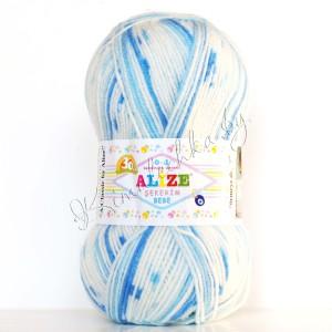 цвет 508 - белый, голубой