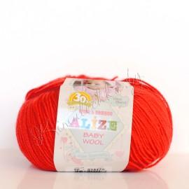 Baby Wool красный (56)