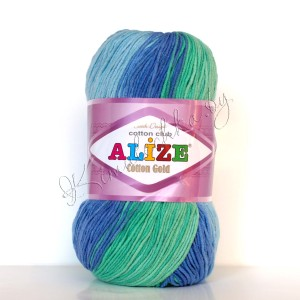 белый, зеленый, синий, голубой (4532)