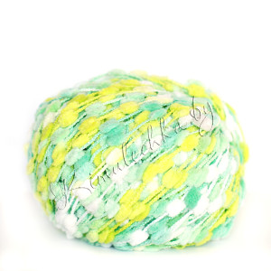 белый, салатовый, желтый, зеленый (51626)