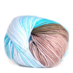 цвет 3675 - белый, голубой, бежевый, коричневый